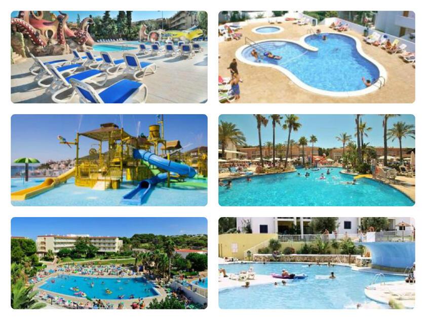 Oferta hoteles con parque acu tico en baleares - Parque acuatico menorca ...
