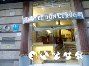 """Exterior – """"Hotel Don Curro"""""""