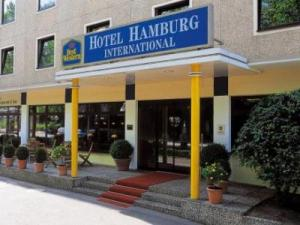 "Foto del exterior de ""Hotel Best Western Hamburg International"""