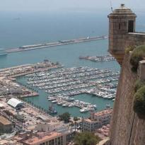 Vista sobre la ciudad de Alicante