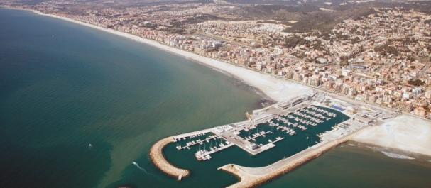 Fotografía de Calafell: Panorámica del Puerto de Calafell