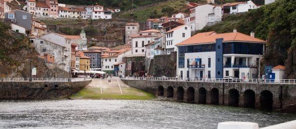 Fotografía de Asturias: Vista sobre Cudillero