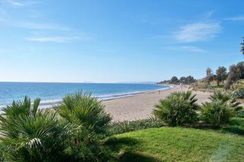 Playa el Velerín, Estepona