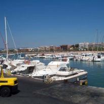 El puerto de Salou