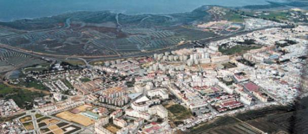 Fotografía de San Fernando: Vista sobre al bahia de Cadiz