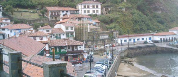 Fotografía de : El barrio de San Roque de Tazones
