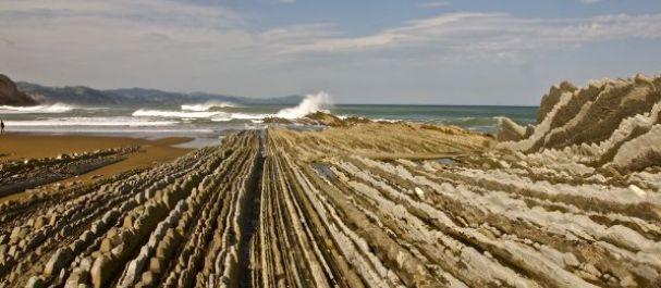 Fotografía de : Zumaia - Flysch y playa