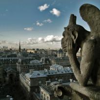 Vista de Paris desde Nôtre Dame