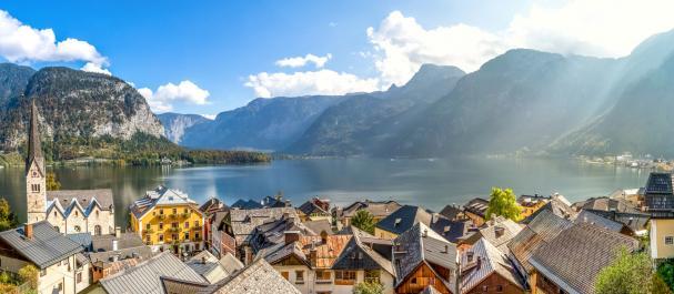 Fotografía de Alta Áustria: Alpes - Hallstadt