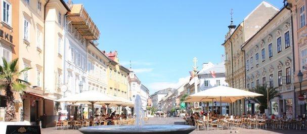 Fotografía de Klagenfurt: Fuente en Alter Platz