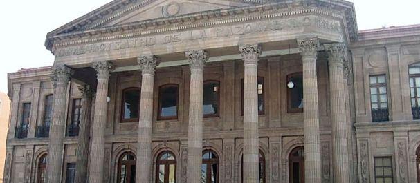 Fotografía de San Luis Potosí: Teatro de la Paz en San Luis Potosi