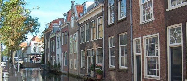 Fotografía de Delft: Canal en Delft