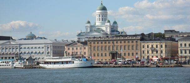 Fotografía de Finlandia: Helsinki desde el agua