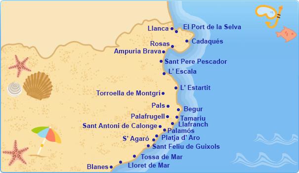 Costa Brava y Maresme Spain  city photos gallery : Hoteles en Costa Brava, Costas Mediterráneas Españolas Tu Hotel en ...