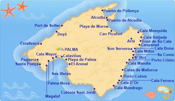 Hoteles en costa de mallorca costas de las islas baleares - Mallorca islas baleares ...