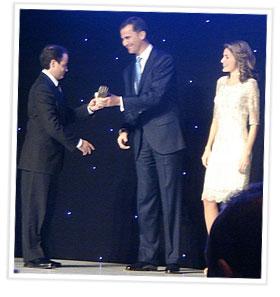 Premio recibido por los Principes