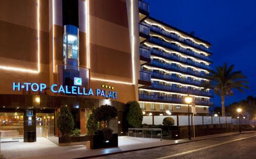 Foto del exterior de H·TOP Calella Palace Family & SPA