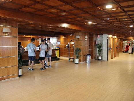 Foto de las zonas nobles de Hotel H TOP Calella Palace