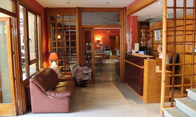 Foto de las zonas nobles de Hotel Rovira
