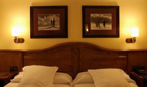 Foto di una camera da Hotel Ski Plaza