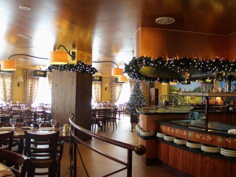 Foto area ristorante Hotel Ski Plaza