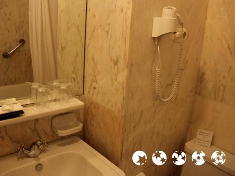 Badezimmer - Grande Hotel do Porto