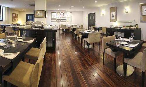 Foto area ristorante Hesperia Zubialde