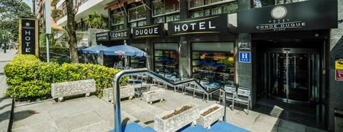 Foto del exterior de Hotel Conde Duque