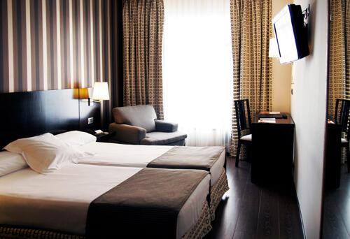 Foto di una camera da Hotel Conde Duque