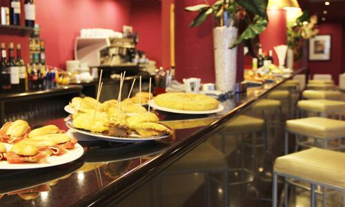 Foto area ristorante Hotel Ilunion Bilbao (ex Confortel)