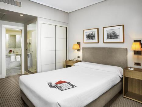 Foto de una habitación de Hotel Ercilla
