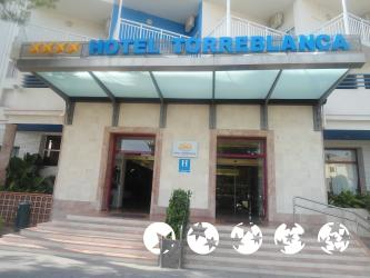 """Foto exterior del """"Hotel Torreblanca"""""""