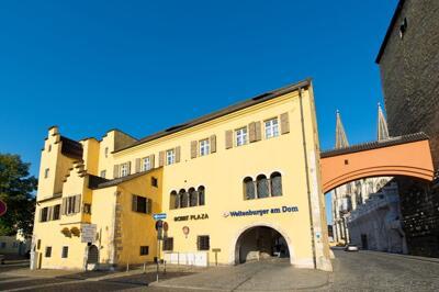 Foto del exterior de ACHAT Plaza Herzog am Dom Regensburg