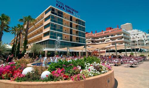 Foto degli esterni Hotel Servigroup Papa Luna