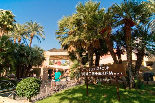 Foto del exterior de Hotel Servigroup Pueblo Benidorm