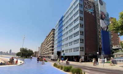 Foto do exterior - Hotel Villa Del Mar