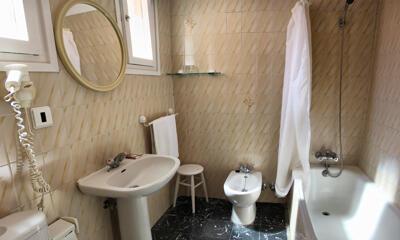 Foto del baño de Hotel Mercedes