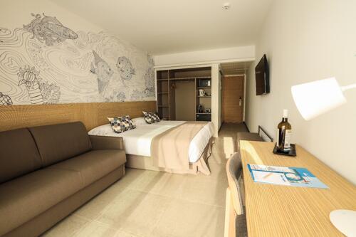 Foto de una habitación de Hotel Cap Negret