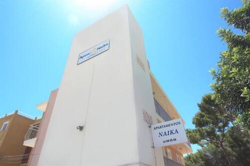 Foto del exterior de Estudios y Apartamentos Naika