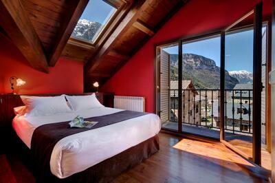 Chambre - Apartamentos Villa de Plan