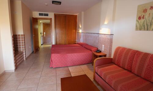 Foto de una habitación de Aparthotel Arena Center