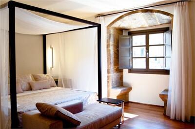 Foto de una habitación de Hotel Palacio de Merás