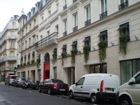 Foto del exterior de Hotel Beauchamps