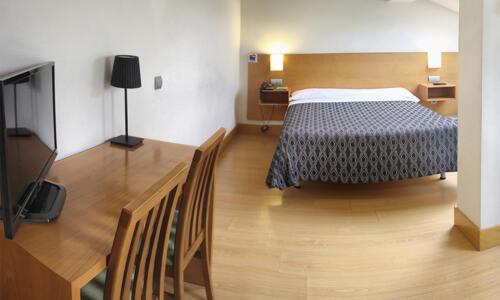 Foto di una camera da Hotel Bilbao Jardines
