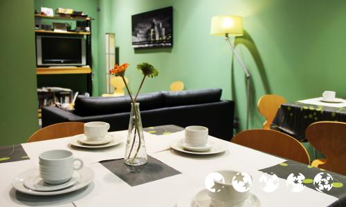 Foto area ristorante Hotel Bilbao Jardines