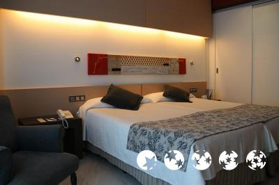 Foto de una habitación de Hotel Hipotels Gran Conil