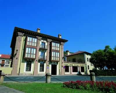 Foto del exterior de Hotel Palacio Azcarate