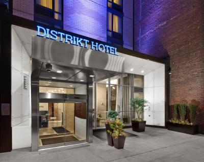 Foto degli esterni Hotel Distrikt New York City