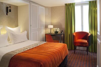 Foto de una habitación de Hotel Bourgogne & Montana