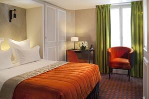 """Foto de una habitación de """"Hotel Bourgogne & Montana"""""""